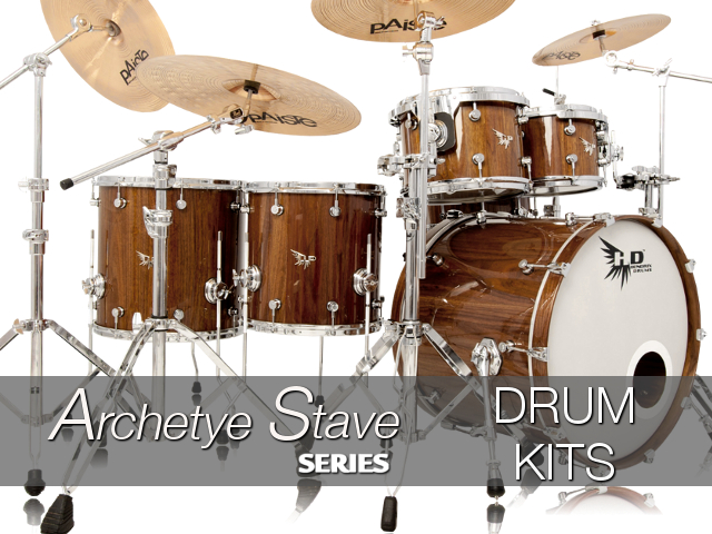 Archetype Stave Series  Drum Kits