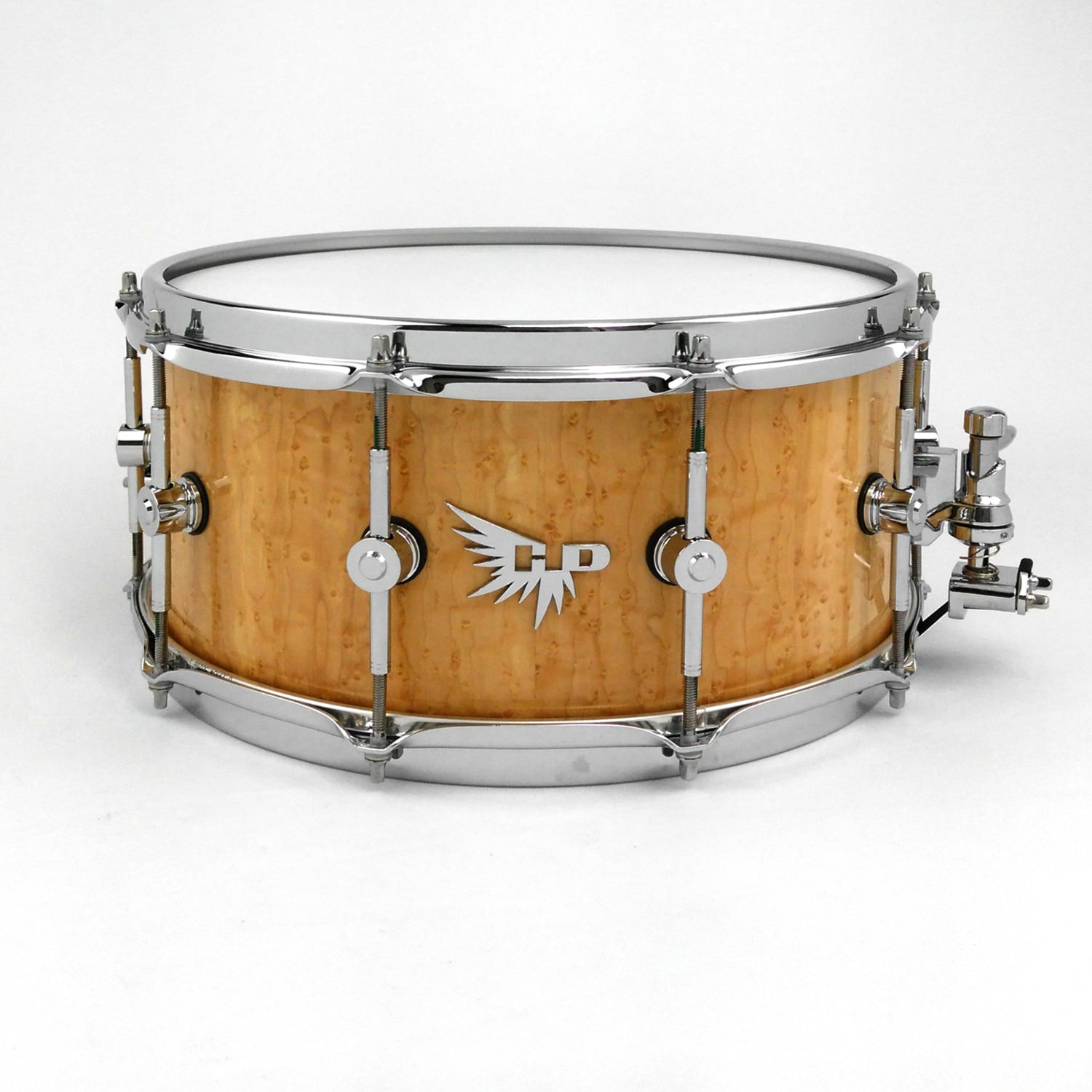 Birdseye Maple Best Snare Drum Hendrix Drums Stave