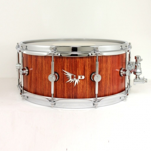Bubinga snare drum stave Hendrix Drums Beautiful