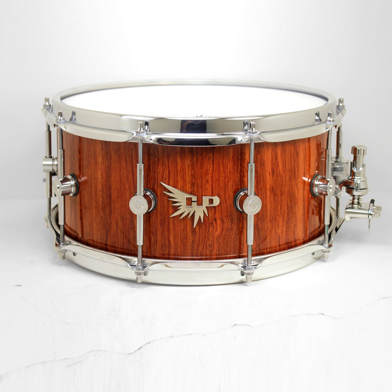 Bubinga Snare Drum Hendrix Drums Stave High End