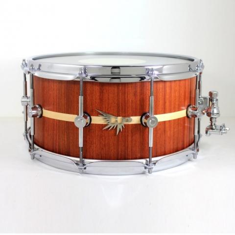 Justin Miles Snare Drum Hendrix Bubinga Custom