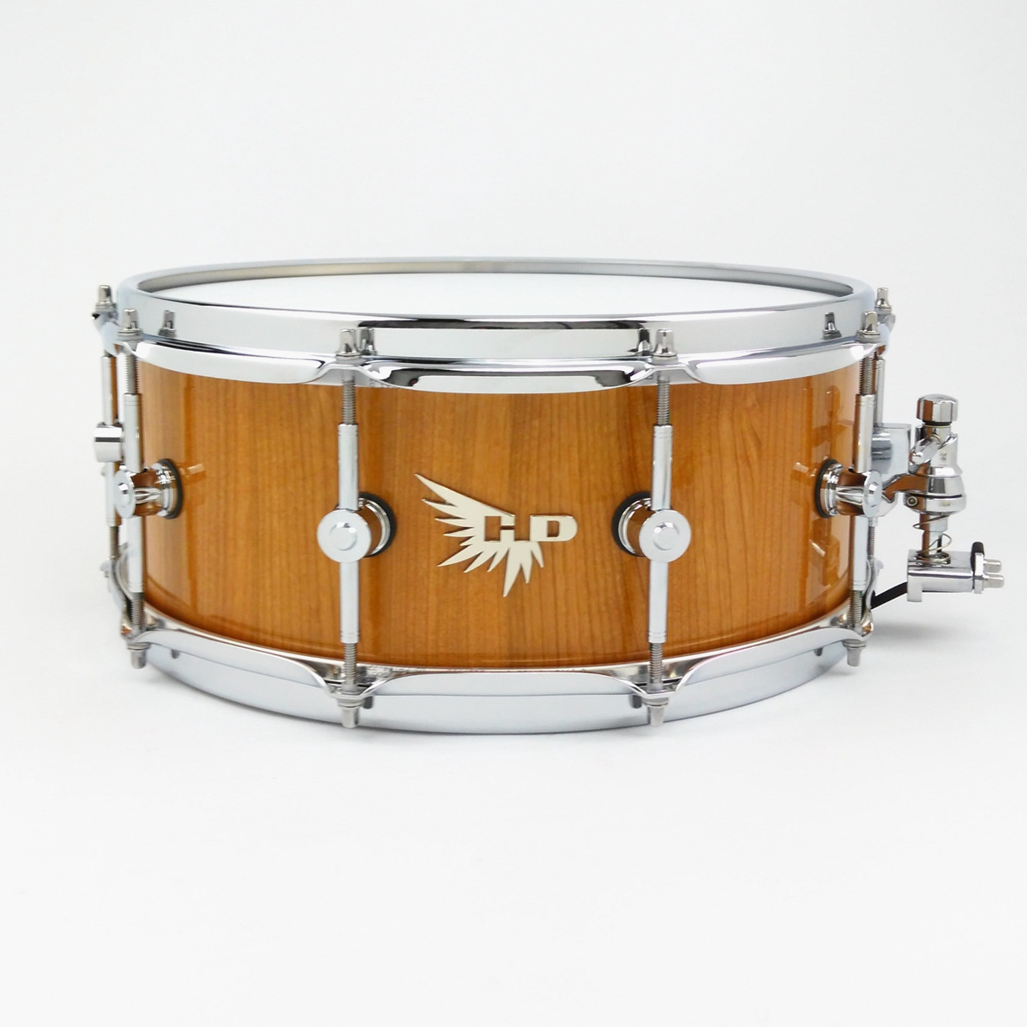 Cherry Snare Drum Hendrix Drums Stave Gloss DW