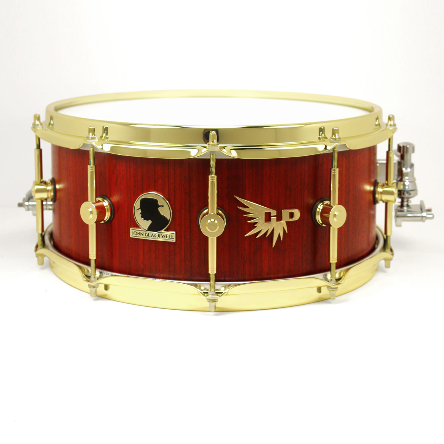 John Blackwell Signature Original Snare Drum Hendrix Drums Custom HD