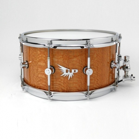 Lacewood Snare Drum Block Stave Hendrix Drums