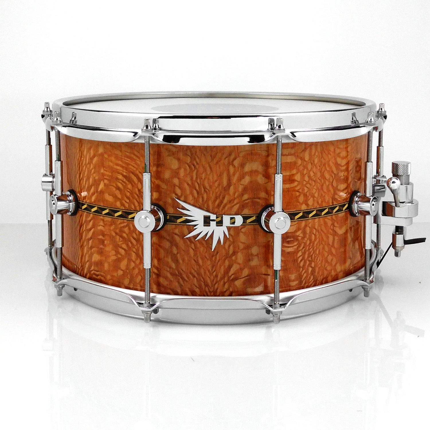 Best Snare Drum Craviotto Hendrix Drums HD Pearl Lacewood Stave