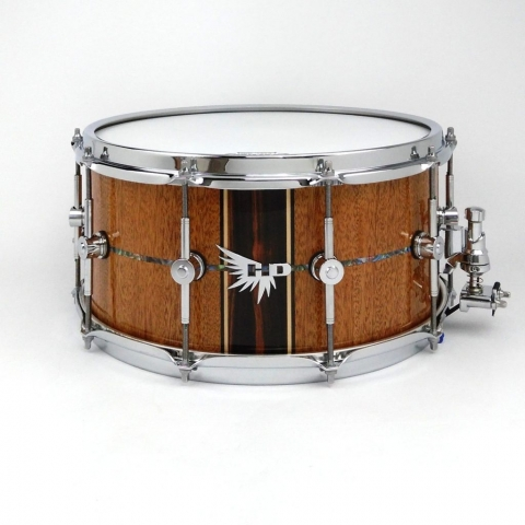 Kevin Garcia Hendrix Drums Stave Mahogany Snare Drum Brady Pearl HD