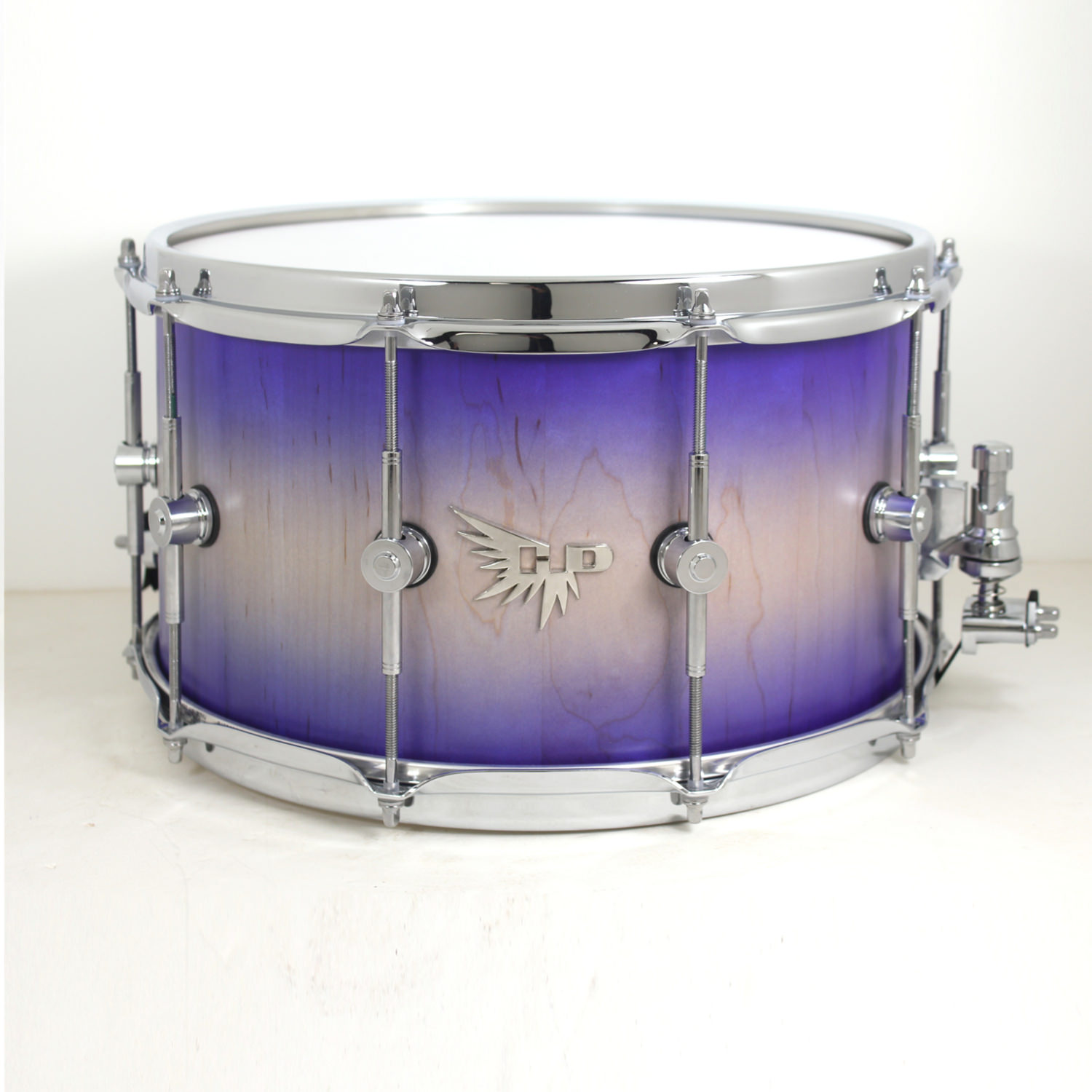 Dominique Austin Maple Stave Snare Drum Purple Hendrix Drums HD