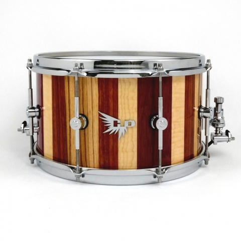 """Wood Snare Drum 13"""" Hendrix Drums DW Pearl Stave"""