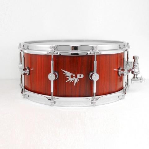 Snare Drum Hendrix Drums HD Stave Block Brady HD Padauk