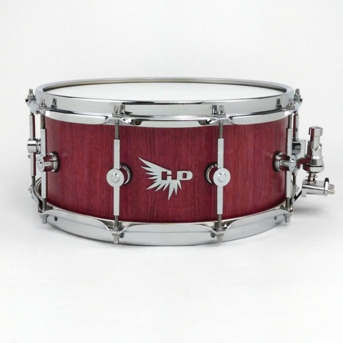 Purpleheart DW Snare Drum Hendrix Drums Stave HD