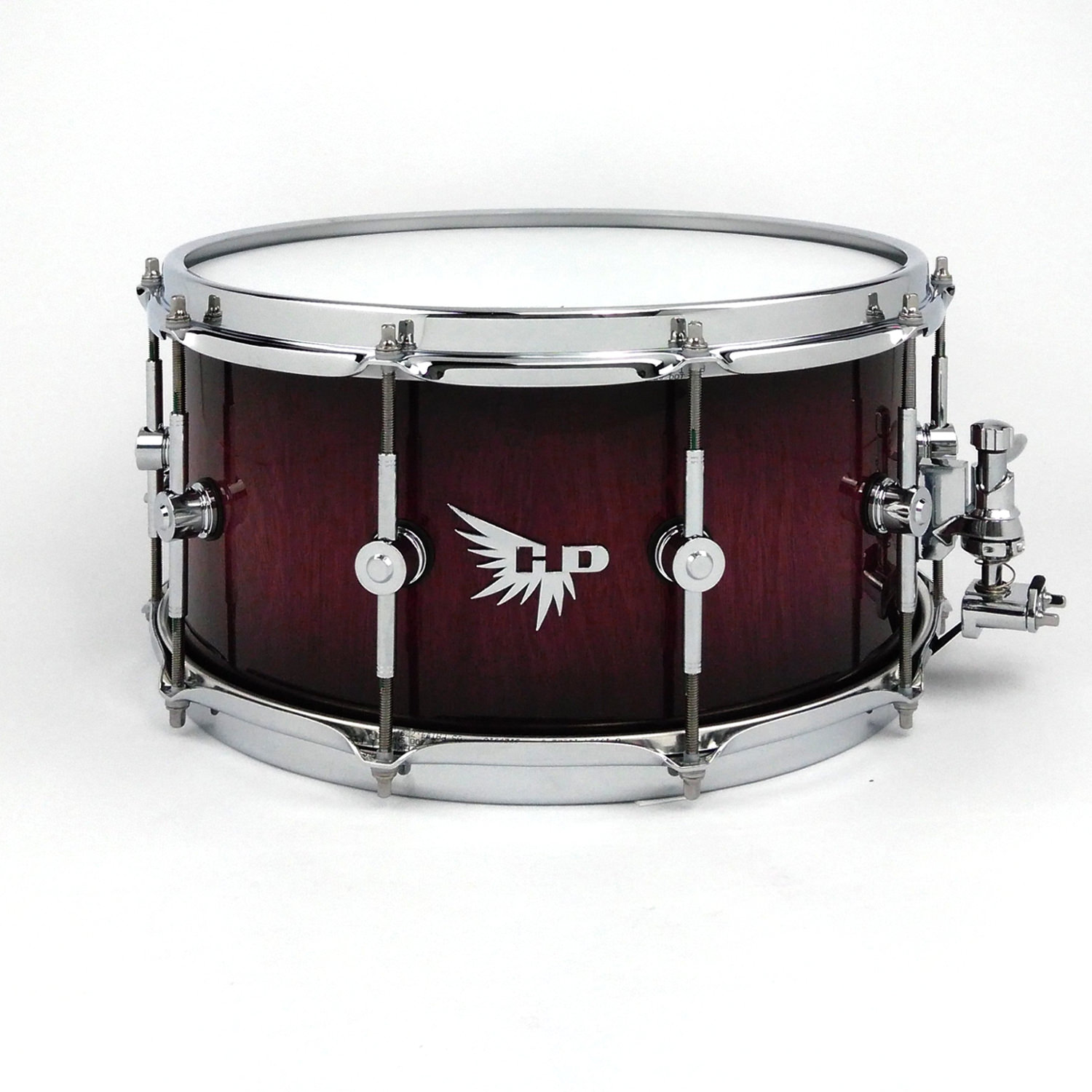 DW Purpleheart Snare Drum Hendrix Drums Black Burst Gloss Best Snare Drum HD