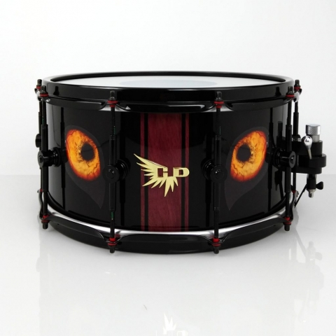 Jasper Huang Hendrix Drums Snare Eyes Custom Snare Drum HD Hendrix