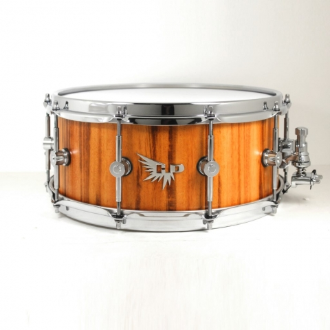 Tigerwood Snare Drum Hendrix Drums Stave Solid Wood Craviotto Pearl