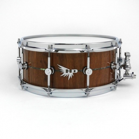 Abalone Inlay Hendrix Drums Snare Drum Stave Walnut Craviotto Best Snare DW