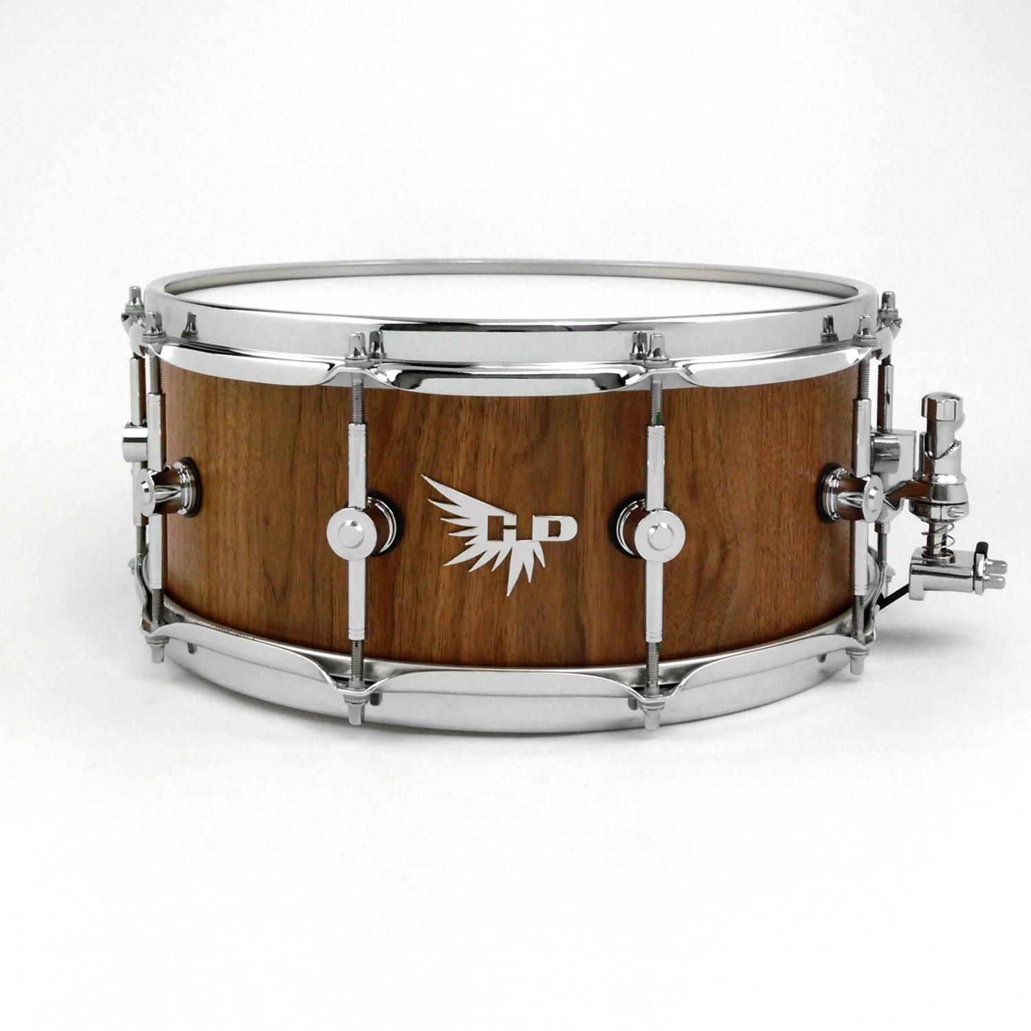 Walnut Hendrix Drums Stave Snare Tama Craviotto Brady HD