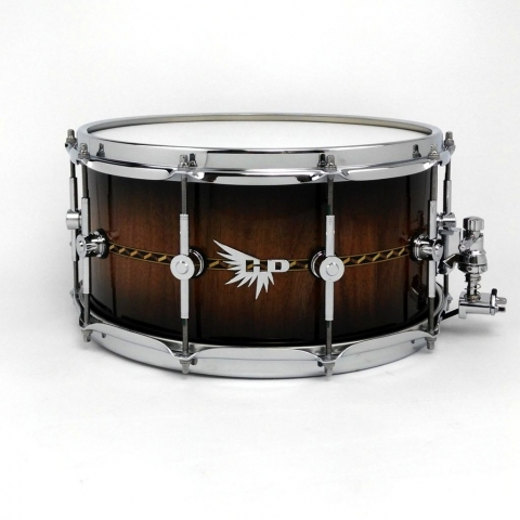 Best Snare Drum Walnut Stave Inlay Craviotto Inlay