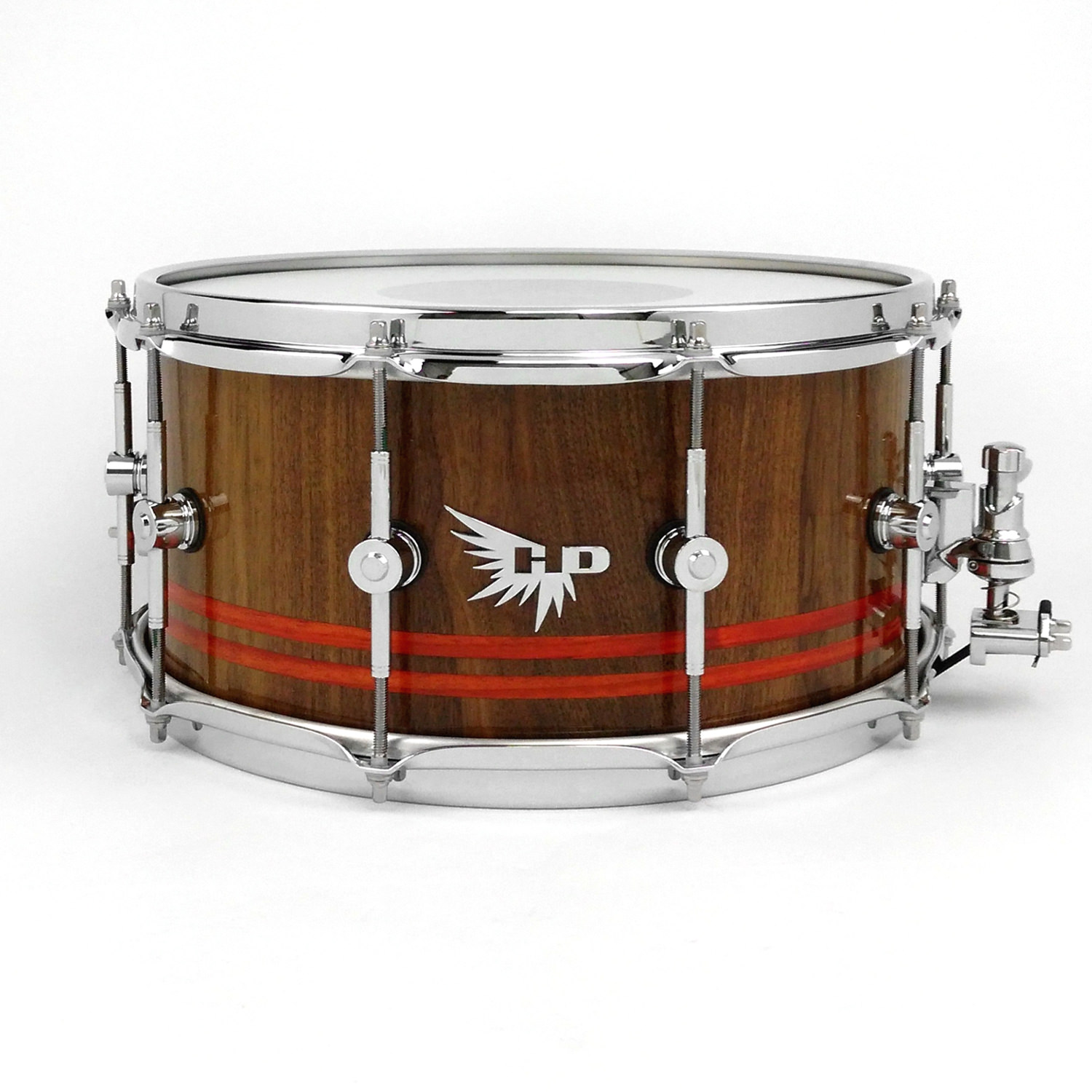 Walnut Padauk Best Snare Drum Hendrix Drum Stave Gretsch