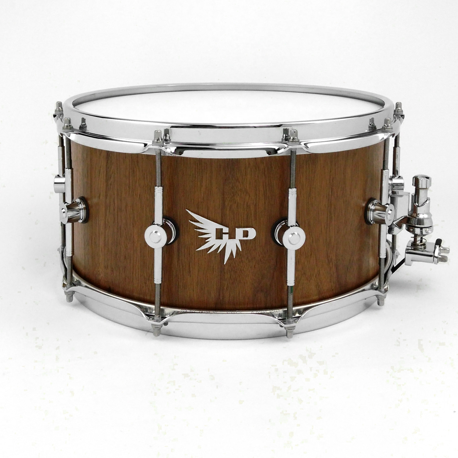 Walnut Snare Drum HD Custom Snare Pearl Stave