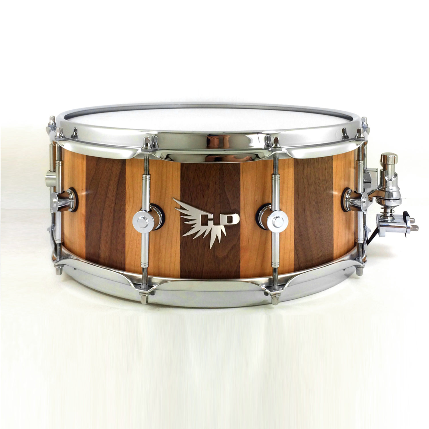 Dominique Austin Snare Drum Hendrix Drums Walnut Cherry Stave